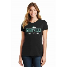 Montville Broncos Wrestling Port & Company® Ladies Fan Favorite™ Tee