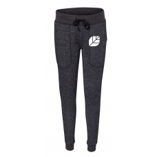 Brazen Ladies Glitter Jogger Sweatpants