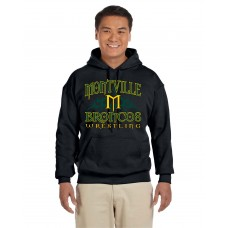 Montville Broncos Wrestling Hooded Sweatshirt - 2015 Design - *LIMITED STOCK*
