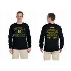 Montville Broncos Wrestling  Long Sleeve Tshirt 2015 Design *LIMITED STOCK*