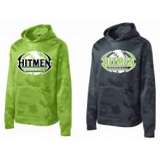 Hitmen Baseball Sport-Tek® Sport-Wick® CamoHex Fleece Hooded Pullover
