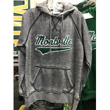 Montville Distressed Hooded Sweatshirt