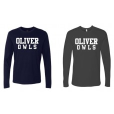 Oliver Street School Next Level Long Sleeve