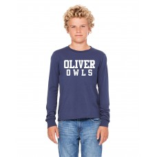 Oliver Street School Youth Bella Canvas Long Sleeve