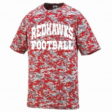 Parsippany PAL Redhawks Football Augusta Digi Camo Wicking T-Shirt