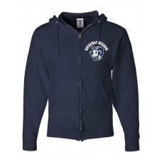 RMS Embroidered Full Zip Hooded Sweatshirt