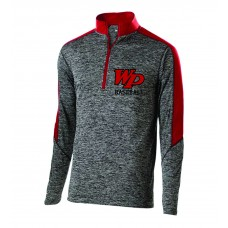 Whippany Park Baseball Embroidered Mens 1/2 Zip Pullover