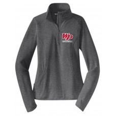 Whippany Park Baseball Ladies Stretch 1/2-Zip Pullover