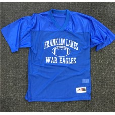 Franklin Lakes Football Silver Glitter Jersey