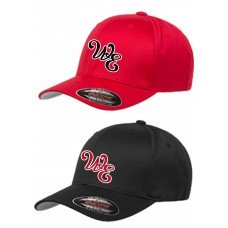 Lady Warriors Softball Embroidered Flexfit Hat