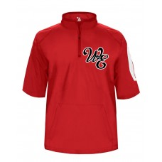 Lady Warriors Softball Embroidered Sideline Pullover