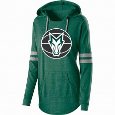 Montville Broncos Basketball Ladies Hooded Low Key Pullover