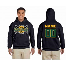 "Montville Lady Mustangs Softball ""Players Hoodie"""