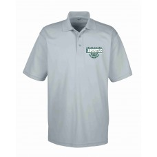 St. Peters Basketball Embroidered Moisture Management Mens Polo Shirt