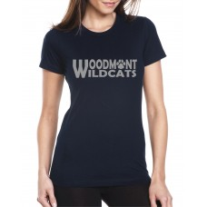Woodmont Wildcats Glitter Shirt