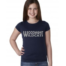 Woodmont Wildcats Glitter Girls T-shirt
