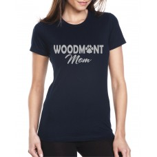 Woodmont Wildcats Glitter Mom Shirt
