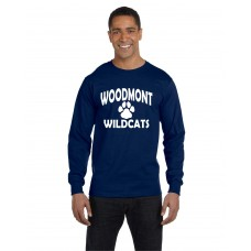 Woodmont Wildcats Long Sleeve T-Shirt