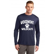 Woodmont Wildcats Long Sleeve Moisture Management Tshirt