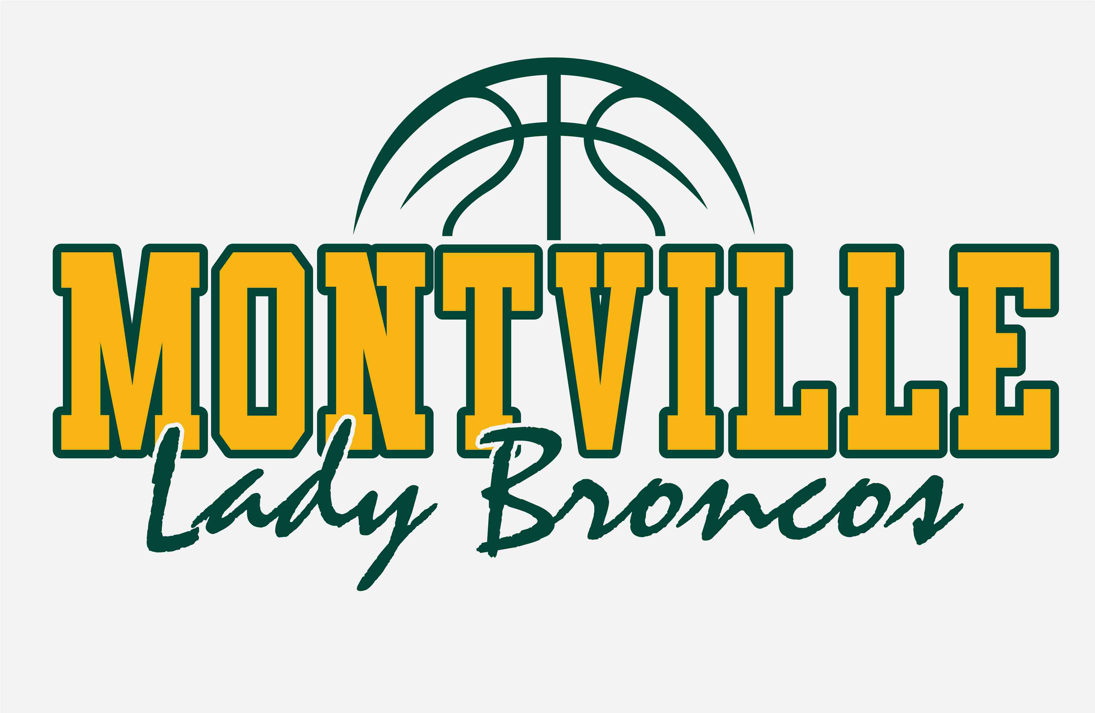 Montville Lady Broncos Basketball